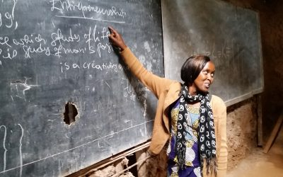 REFUGEE TEACHER DREAMS OF EDUCATION